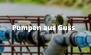 Pumpen aus Guss